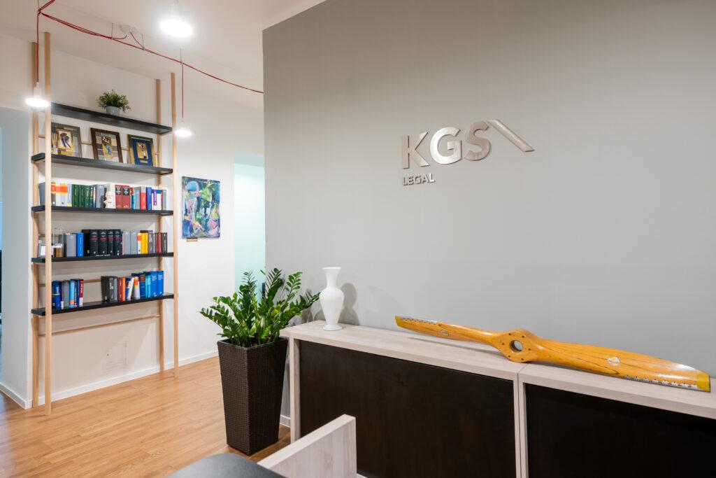 Interiér advokátní kanceláře