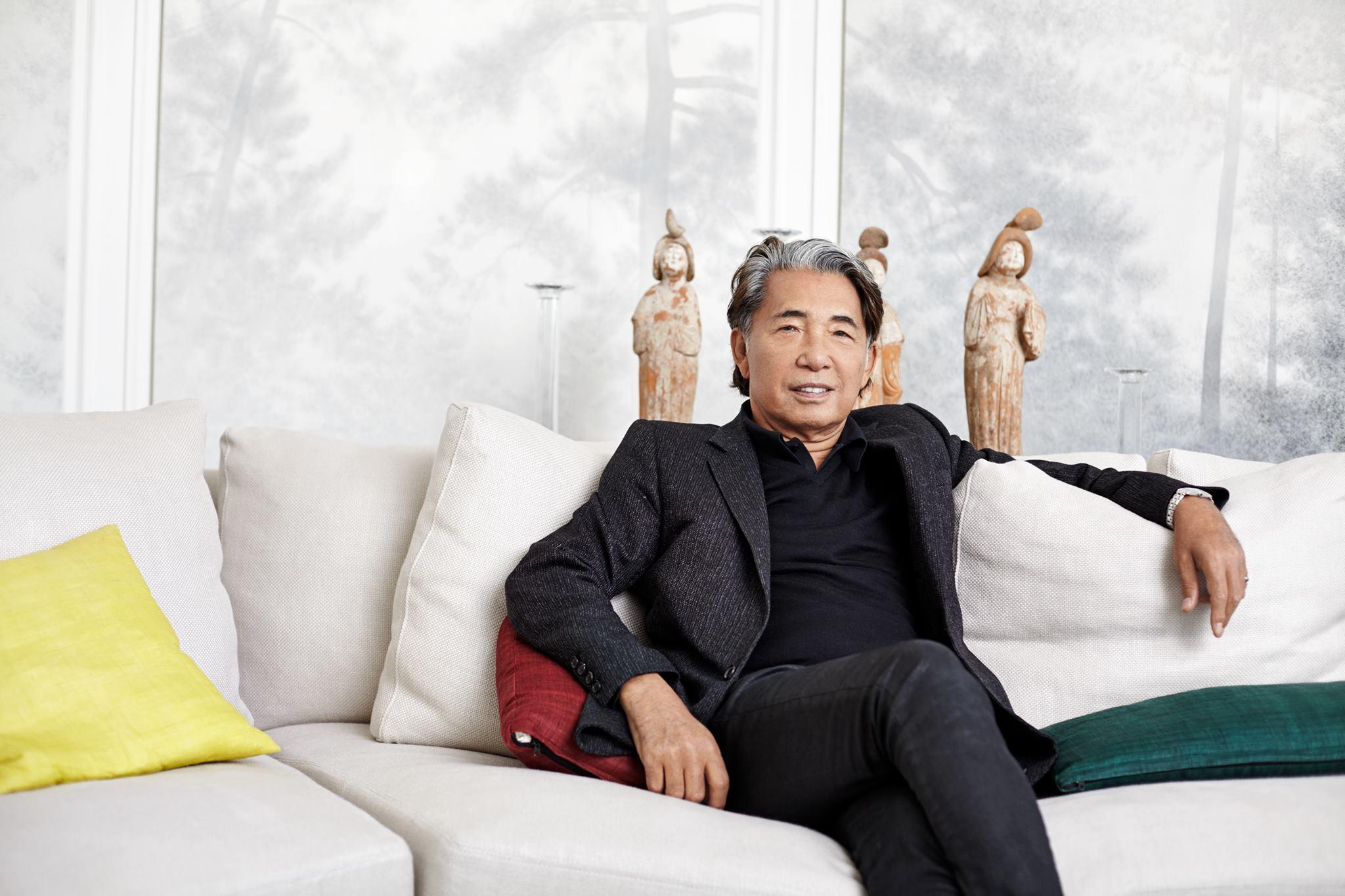 Kenzo Takada - zdroj Facebooková stránka návrháře